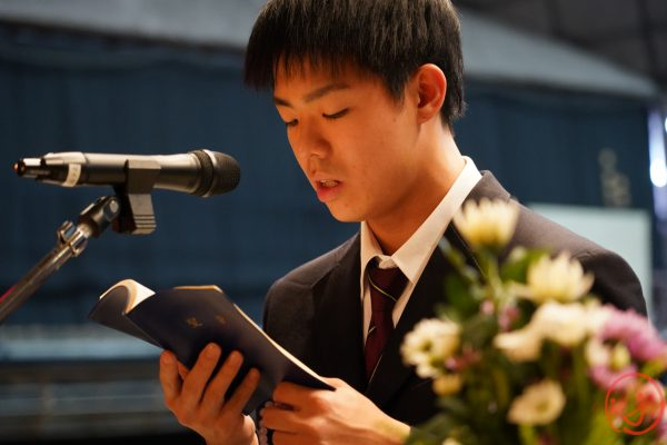 令和元年最後の全校礼拝