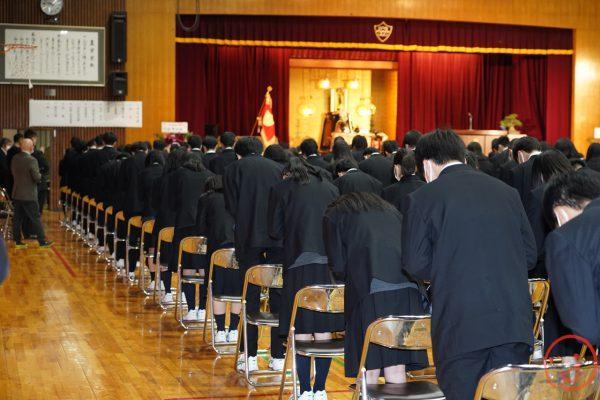 ようこそ札幌龍谷へ 第58回令和2年度入学式